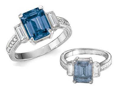 Custom jewelry by Greenstone's Fine Jewelry