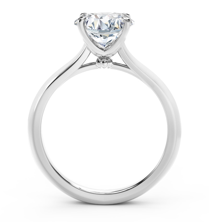 "Forevermark ""The One"" engagement ring"