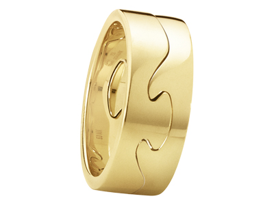 Gold Georg Jensen ring