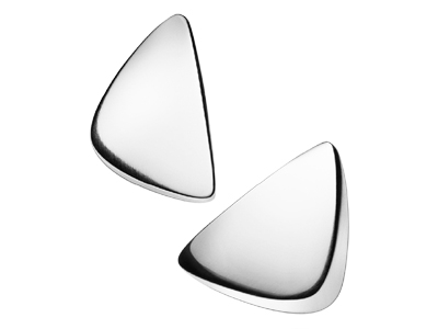 Silver Georg Jensen earrings